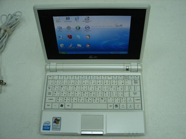 ASUS EPC 701SD 8G xp珍珠白視訊版筆記型電腦一台 9成5新